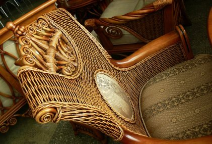 Wicker is very versatile and can be made into many different styles of furniture, to suit different styles of conservatory.