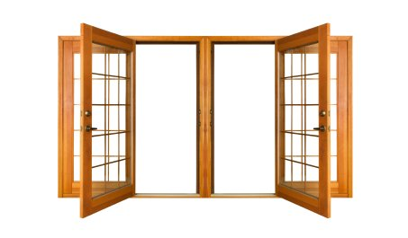Conservatory doors conservatoryweb for Double open french doors