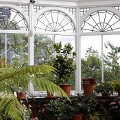 uPVC or wood frames are suitable for glazed units