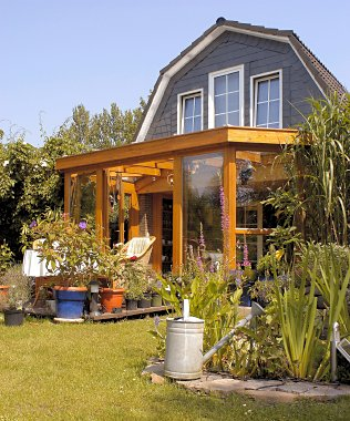The style of the conservatory will affect the type of construction for the roofing system.