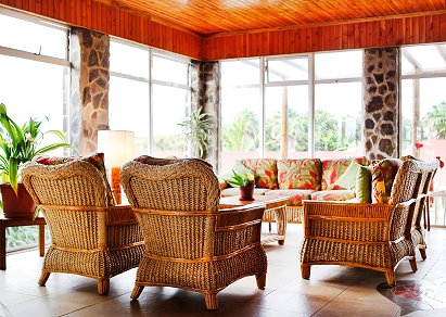 You could save money by furnishing initially with second hand conservatory furniture