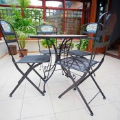 Consider your planned use of the conservatory and buy flooring to suit.